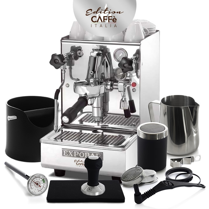 EXPOBAR BREWTUS IV LEVA & CAFFE ITALIA KIT EDITION 2
