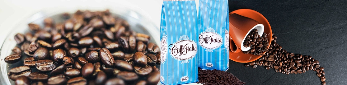 Grains de café expresso