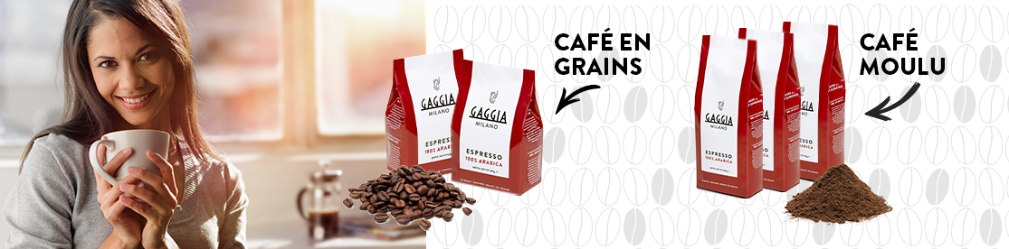 Gamme de café Gaggia