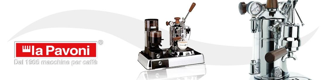 La Pavoni coffee machines set
