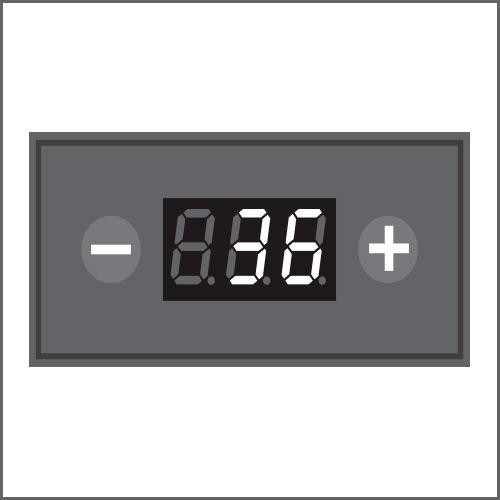 La température augmentera jusqu'à atteindre la valeur paramétrée