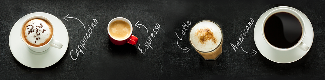 boissons à base de café et de lait